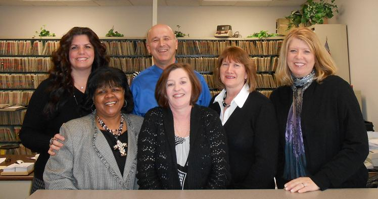 Staff at the Assessors Office
