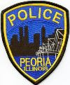 Peoria Police Department Patch