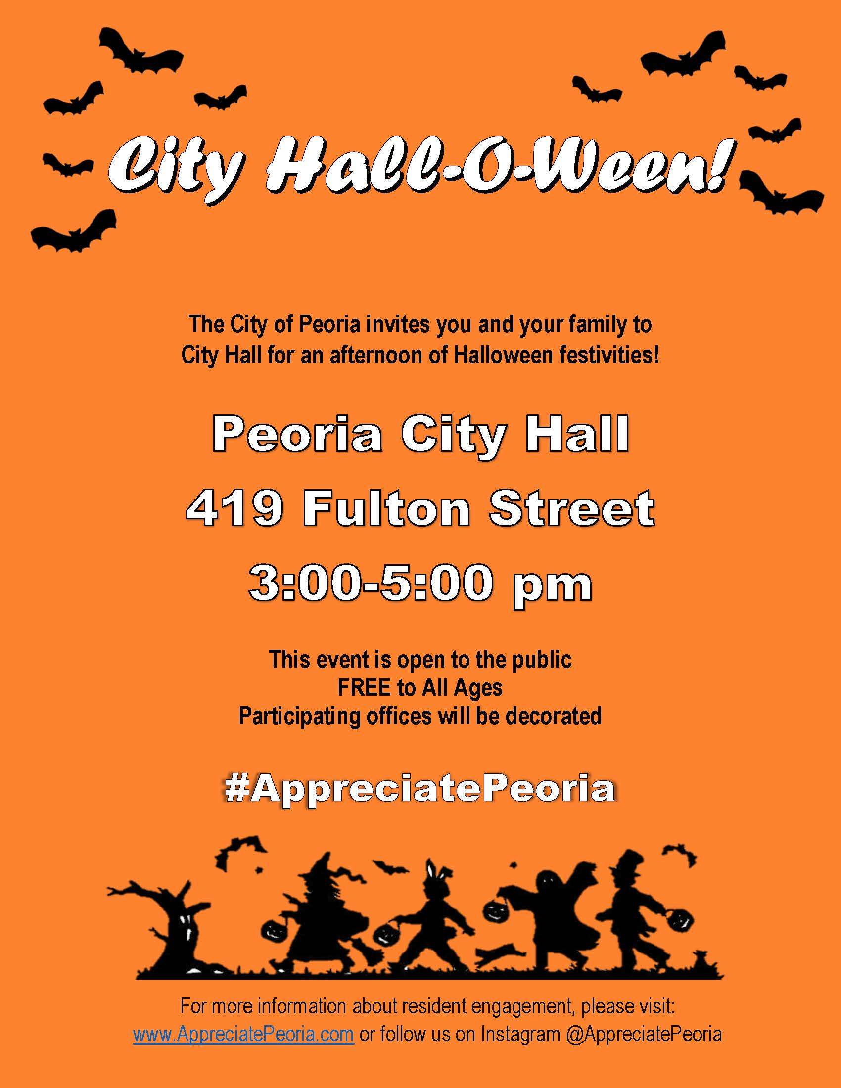 City Hall-O-Ween Flyer-ed