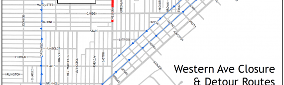 Western Avenue Reconstruction to Begin Mid-March