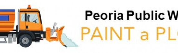 Peoria Public Works Rolls Out'Paint a Plow'Campaign